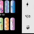 Nail Stencil -161-180