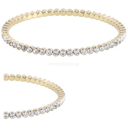 Stretch Bracelet Crystal F