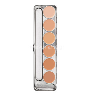 RUBBER MASK GREASE PALETTE 6 COLORS