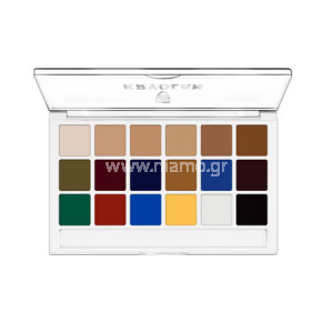 BODY ILLUSTRATION MAKE-UP COLOR PALETTE 18 ΧΡΩΜΑΤΑ