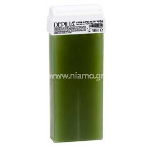Αποτρίχωση Κερί Ρολέτα Με Aloe Vera 100ml