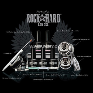 Artistic Rock Hard LED Gel Starter Kit