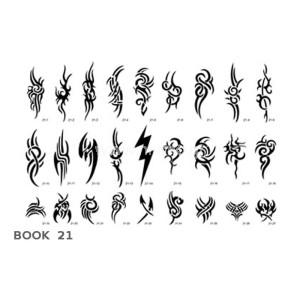 Σχέδια tattoo Σώματος BOOK 21