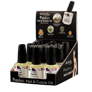 Artistic Colour Cuticle Oil Display