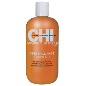 CHI Deep Brilliance Yellow Buster Conditioner 355ml
