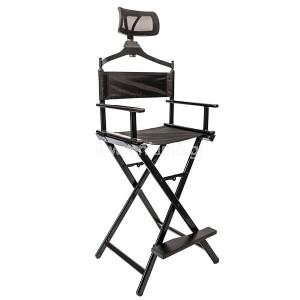 Επαγγελματική Καρέκλα Μακιγιάζ Με Προσκέφαλο