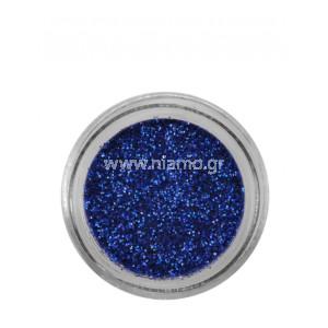 Nail Art Διακοσμητικά Νυχιών Glitter Πούδρα Dark Blue