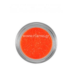 Nail Art Διακοσμητικά Νυχιών Glitter Πούδρα Νέον Πορτοκαλί
