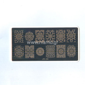 Stamping Plate JR06