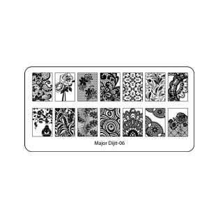 Stamping Plate Major-Dijit-06