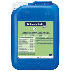 Απολυμαντικό Επιφανειών και Δαπέδων Mikrobac Forte 5L