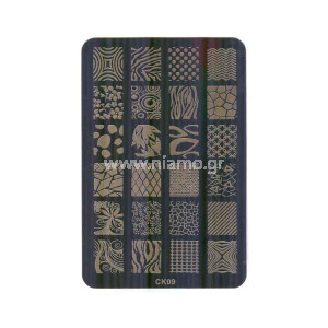 Stamping Plate CK09