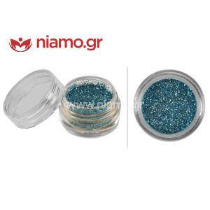 Nail Art Διακοσμητικά Νυχιών Glitter Πούδρα Σμαραγδί