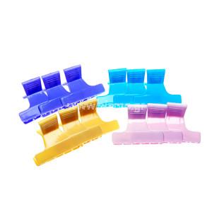 Κλάμερ Πλαστικά Διάφορα Χρώματα 12τεμ