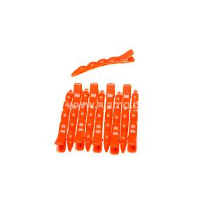 Κλίπς Μεγάλο Μέγεθος Χρώματος Πορτοκαλί 10τεμ