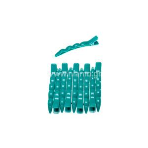 Κλίπς Μεγάλο Μέγεθος Χρώματος Πράσινο 10τεμ
