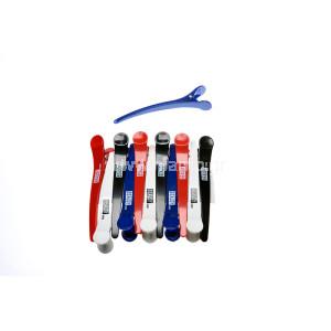 Κλίπς Κλάμερ Μεγάλο Μέγεθος Πλαστικό  Διάφορα Χρώματα 12τεμ