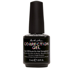 Artistic Colour Soak Off Brush-On Nail Strengthener 15ml