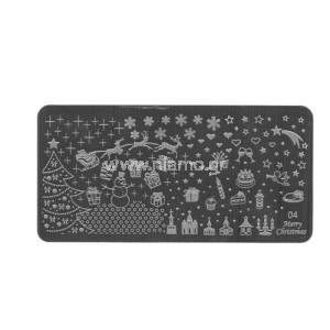 Stamping Plate Christmas 04