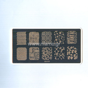 Stamping Plate DN025