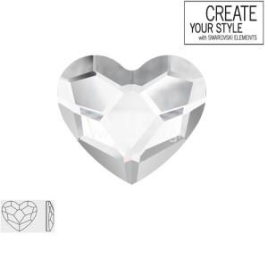 Swarovski Strass Crystal Heart 2808 6.0mm Καρδούλα