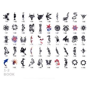 Σχέδια tattoo Σώματος BOOK 1