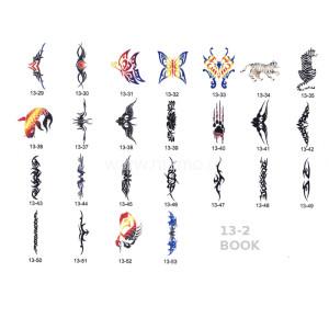Σχέδια tattoo Σώματος BOOK 13