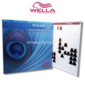 Wella Χρωματολόγιο Βαφών Kolleston