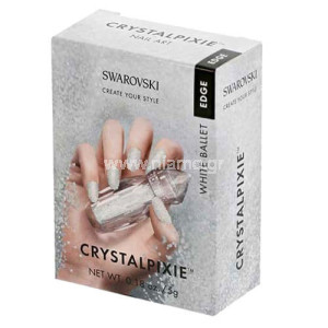 Swarovski Crystalpixie Edge White ballet